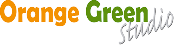 Orange Green Studio Logo